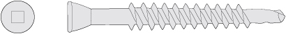 Trim Head Self Drill Screw