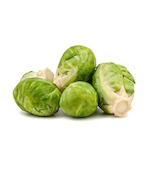 Brussels sprouts sized