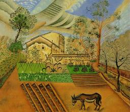 Joan-miro-lorto-con-lasino-1918-modernamuseet-stoccolma