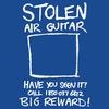 Stolen air guitar
