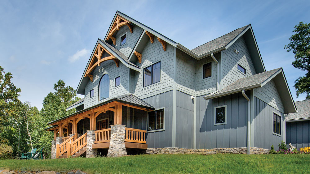 """When """"Almost Heaven"""" Takes the Form of a West Virginia Timber Frame"""