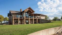 An Oklahoma Timber Home With Global Influences