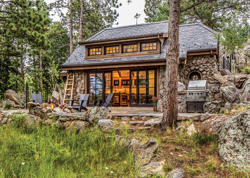 This Colorado Cottage is Only 450 Square Feet