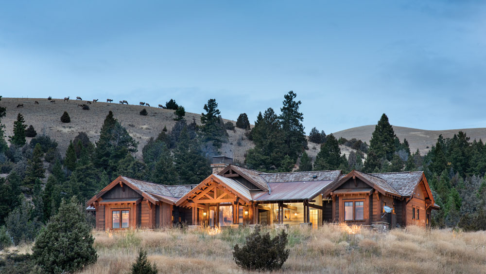 Old Meets New in Montana