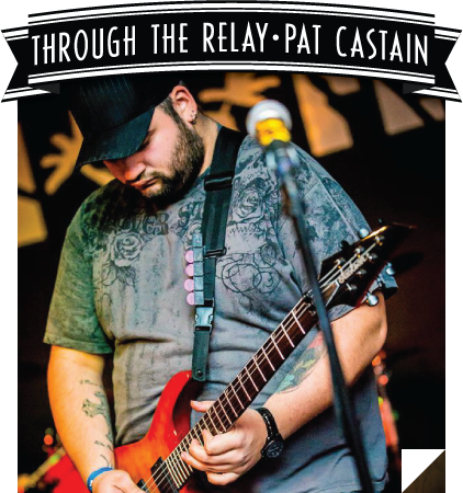 Through The Relay - Pat Castain