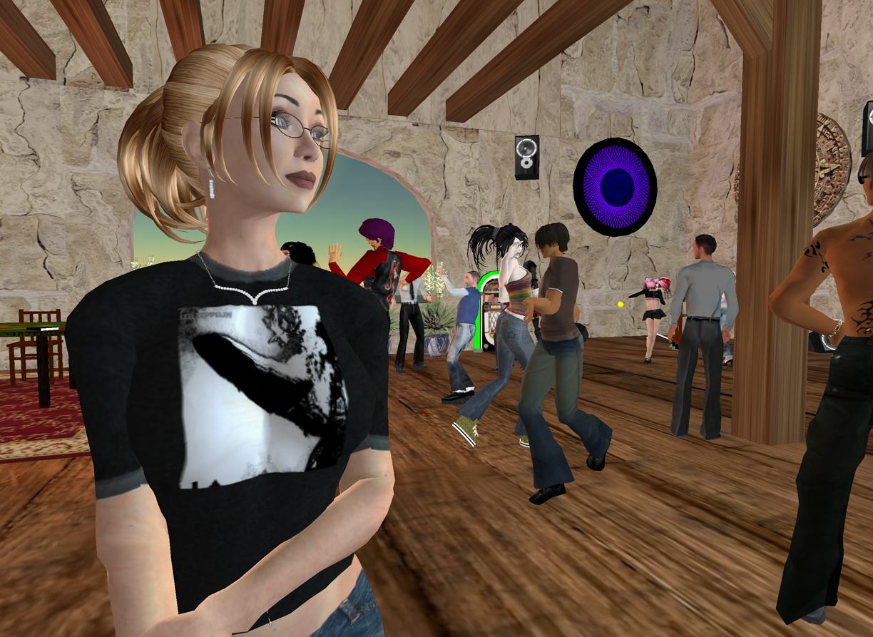 Second Life party