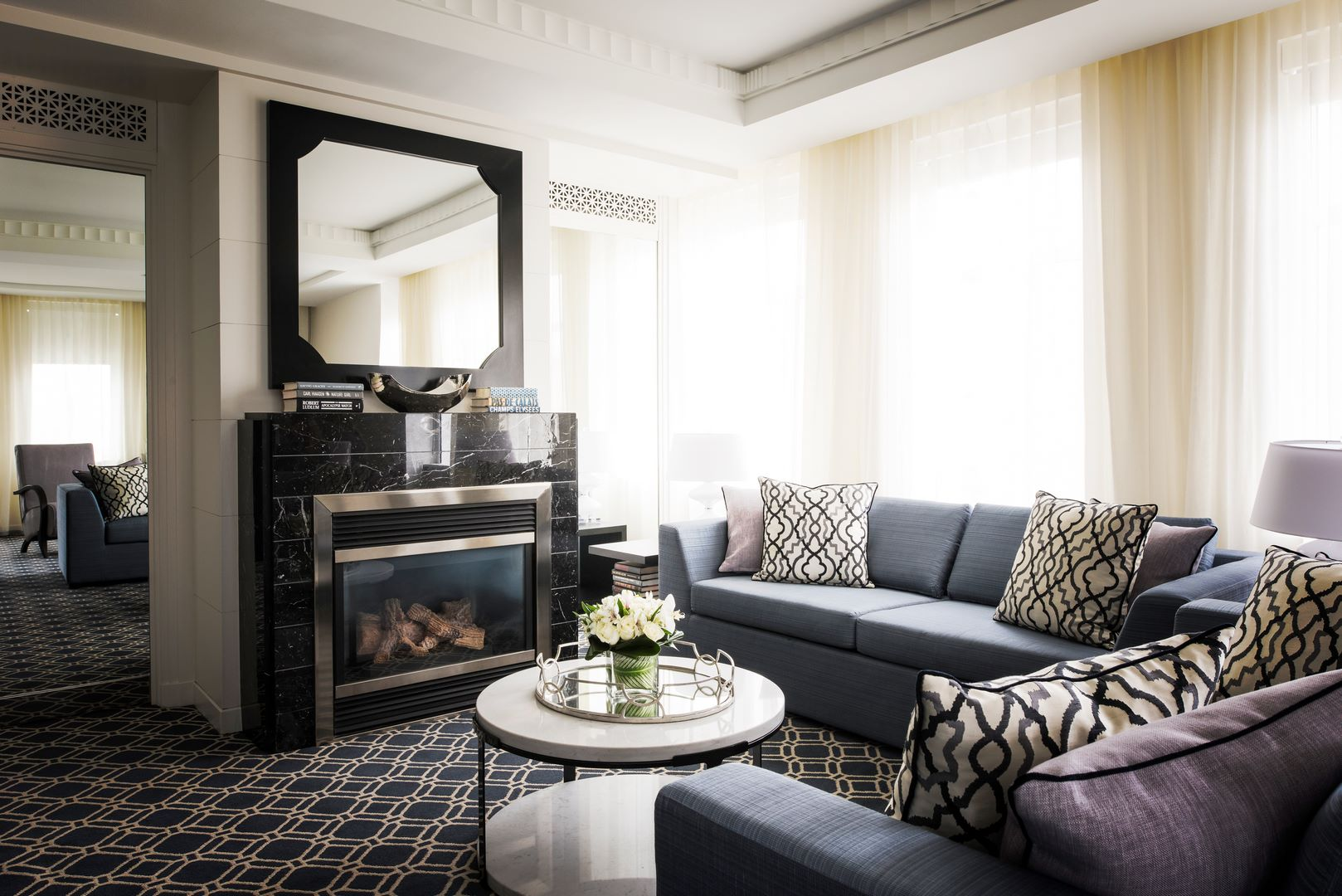 Sofitel washington dc lafayette square presidential suite for 2 bedroom suite hotels washington dc
