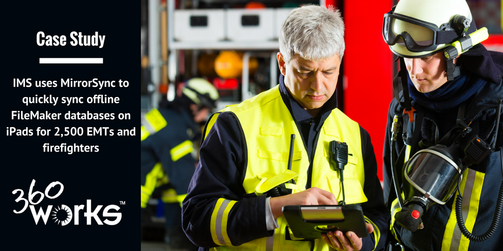 IMS Uses MirrorSync to synchronize their emergency responders solution