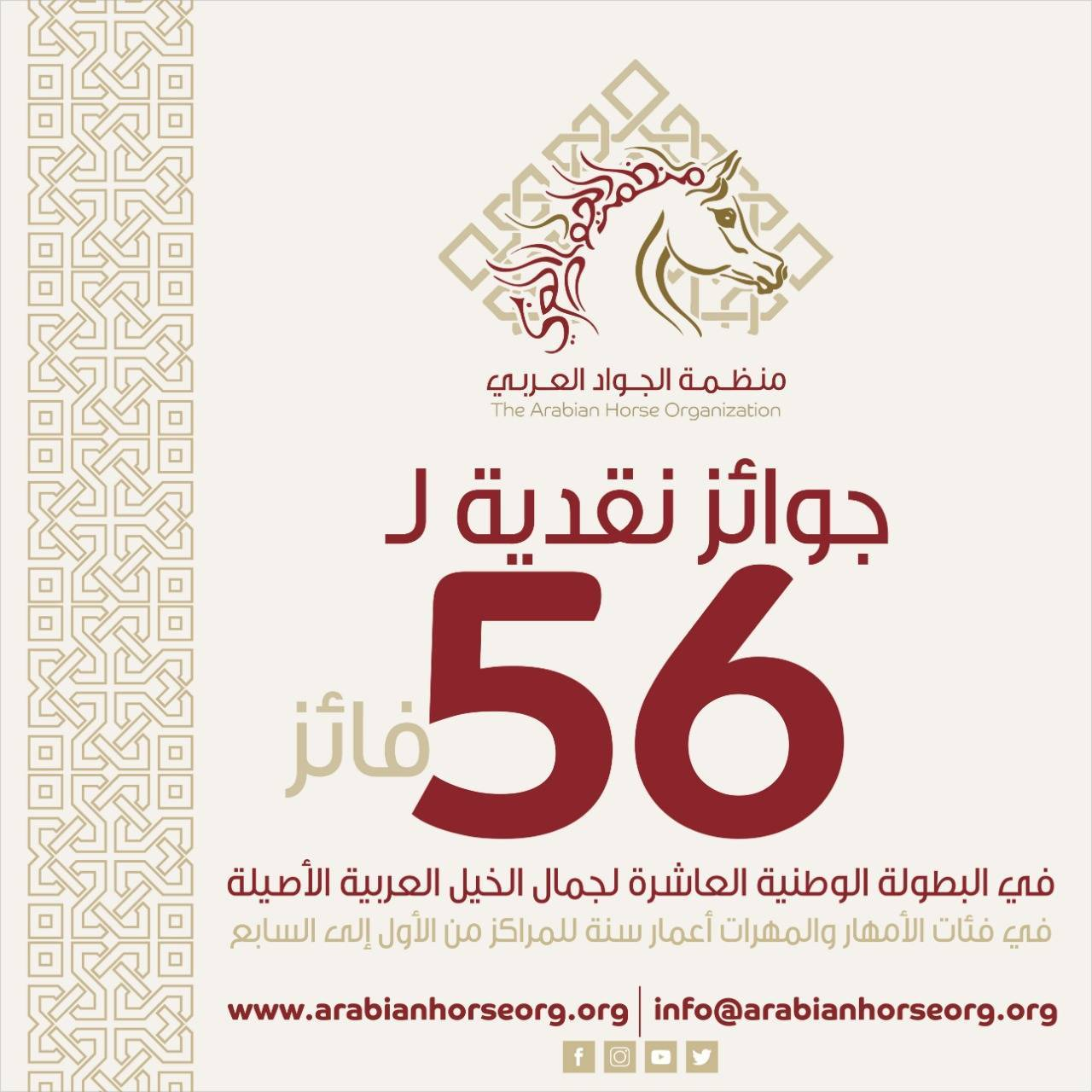 AHO supporting the 10th Saudi National Championship 2019