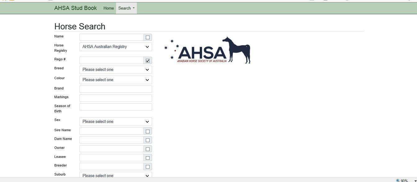 New Online Studbook Arabian Horse Society Australia