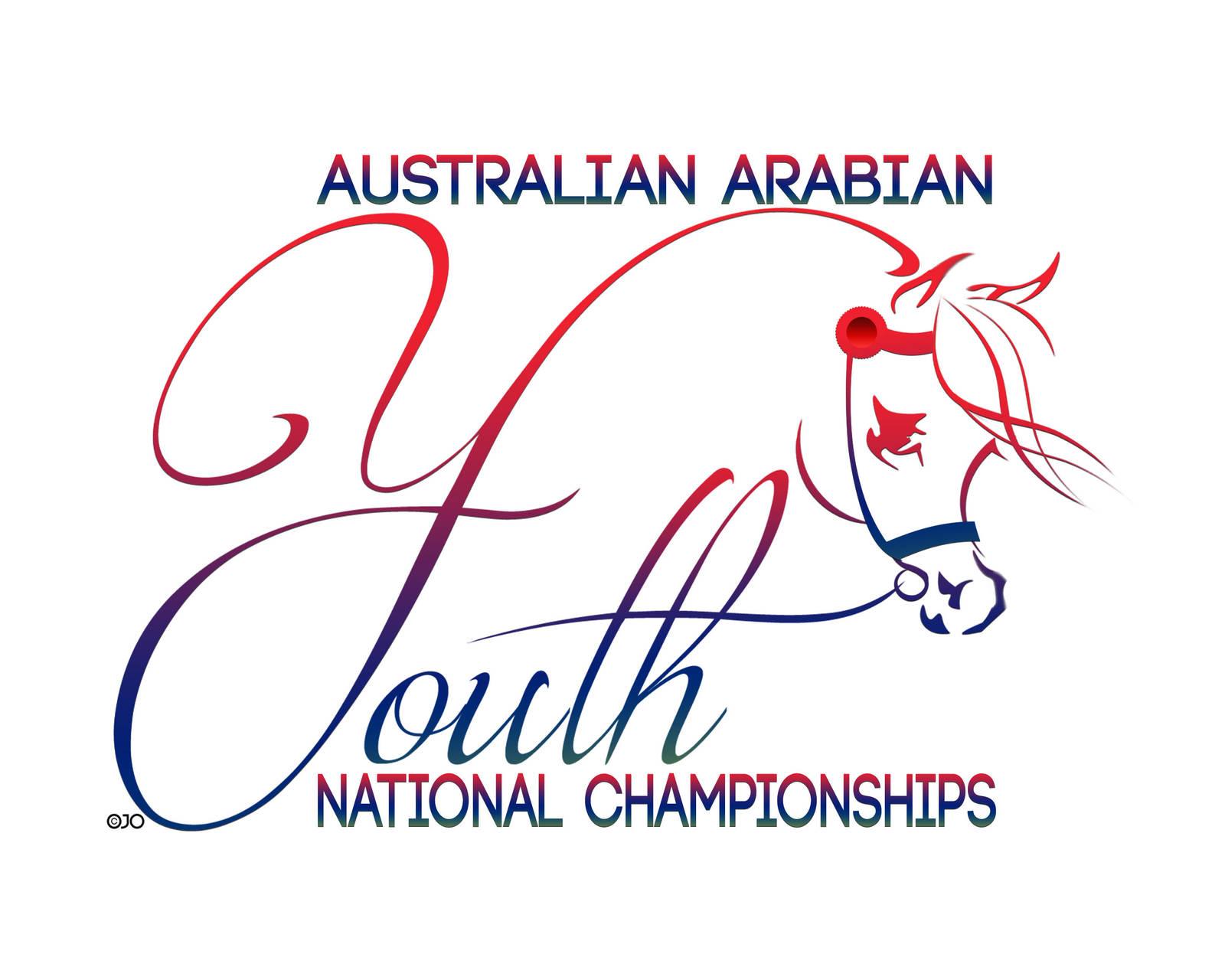New Youth Nationals Logo Arabian Horse Society Australia