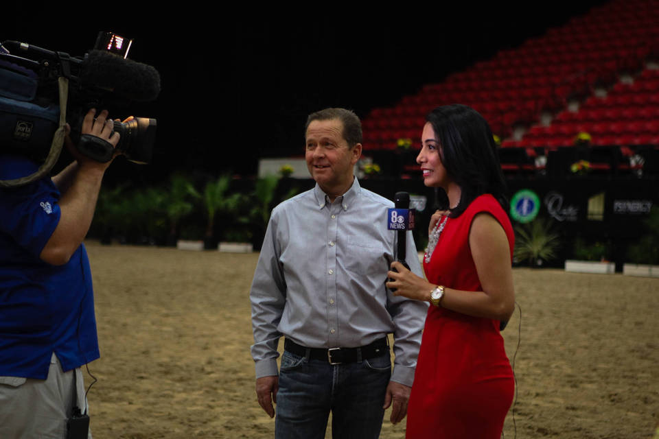 Channel 8 CBS News Coverage with Murray Popplewell