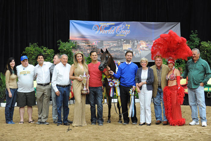 AHBA Futurity Two Year Old Fillies ATH Gold Champion - Nyah Joy IA