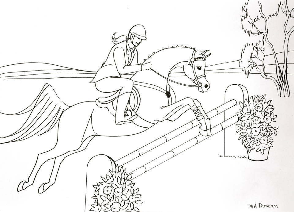 Youth Colouring In Contest :: Australian Arabian National
