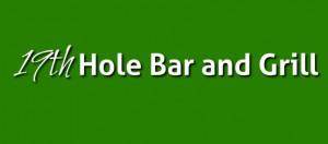 19th hole green logo