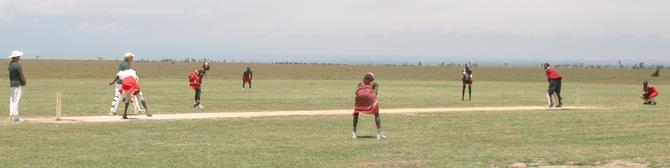 Maasai Cricket Warriors vs Dik-Diks from Tanzania