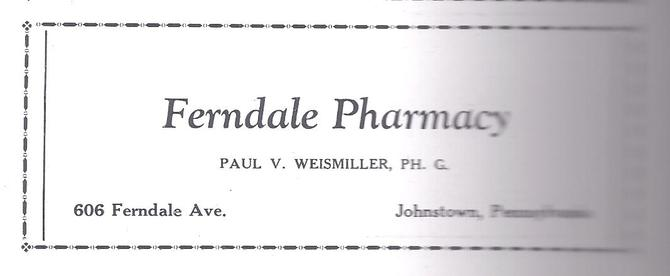 From 1929 Ferndale Reflector