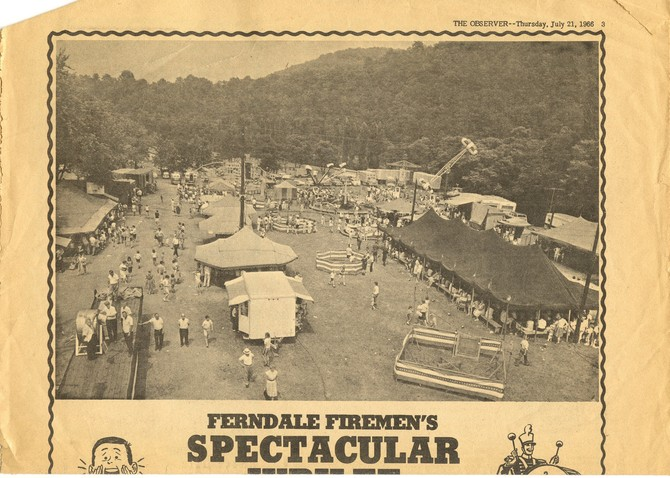Overview of 1966 Ferndale Jubilee