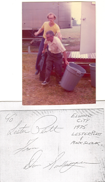 "Lester ""Clem"" Platt, longtime borough worker for whom Clem Alley is named"