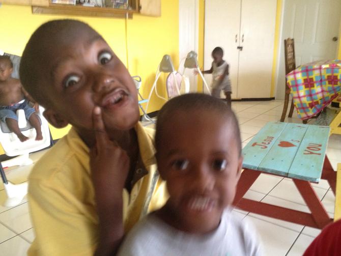 Boys being boys :)