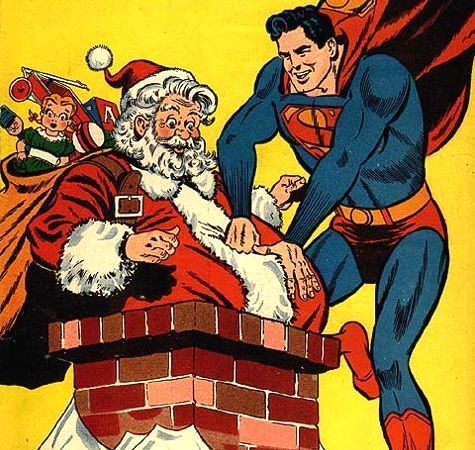 Superman-punches-santa-claus