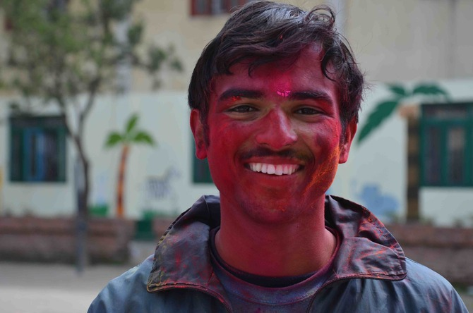And a huge thanks to Netra without whom we could not have had such a fun Holi celebration!
