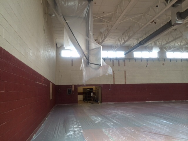 Gym before renovations
