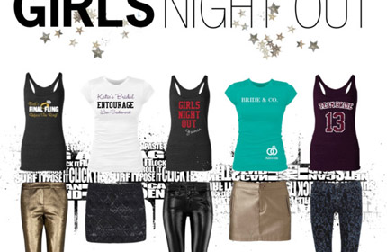Girls Night Out Apparel