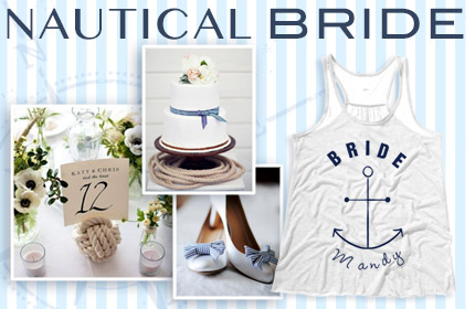 Nautical Wedding Inspiration Board