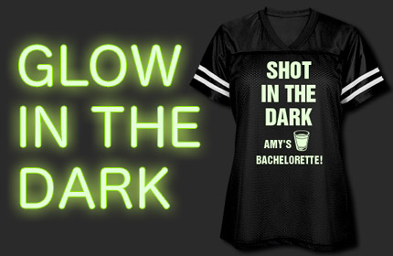 Glow In The Dark Bachelorette Shirts
