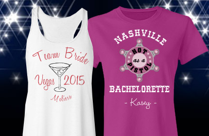 Destination Bachelorette Party Shirts