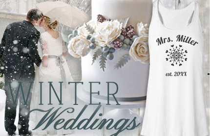 Winter Wedding Inspiration Board