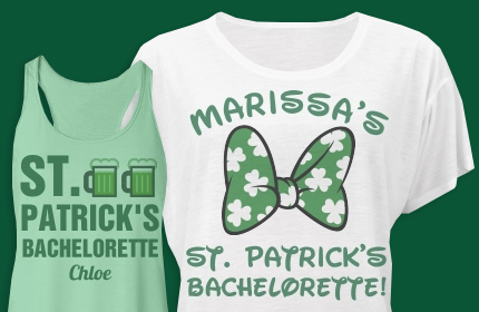 St.Patricks Day Bachelorette Party