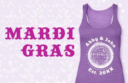 Mardi Gras Wedding Inspiration Board
