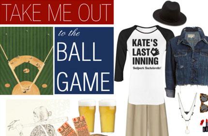 Baseball Bachelorette Party