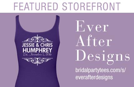 Ever After Designs Custom Apparel Storefront