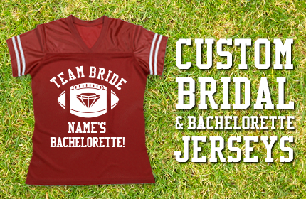 Bride and Bachelorette Jerseys