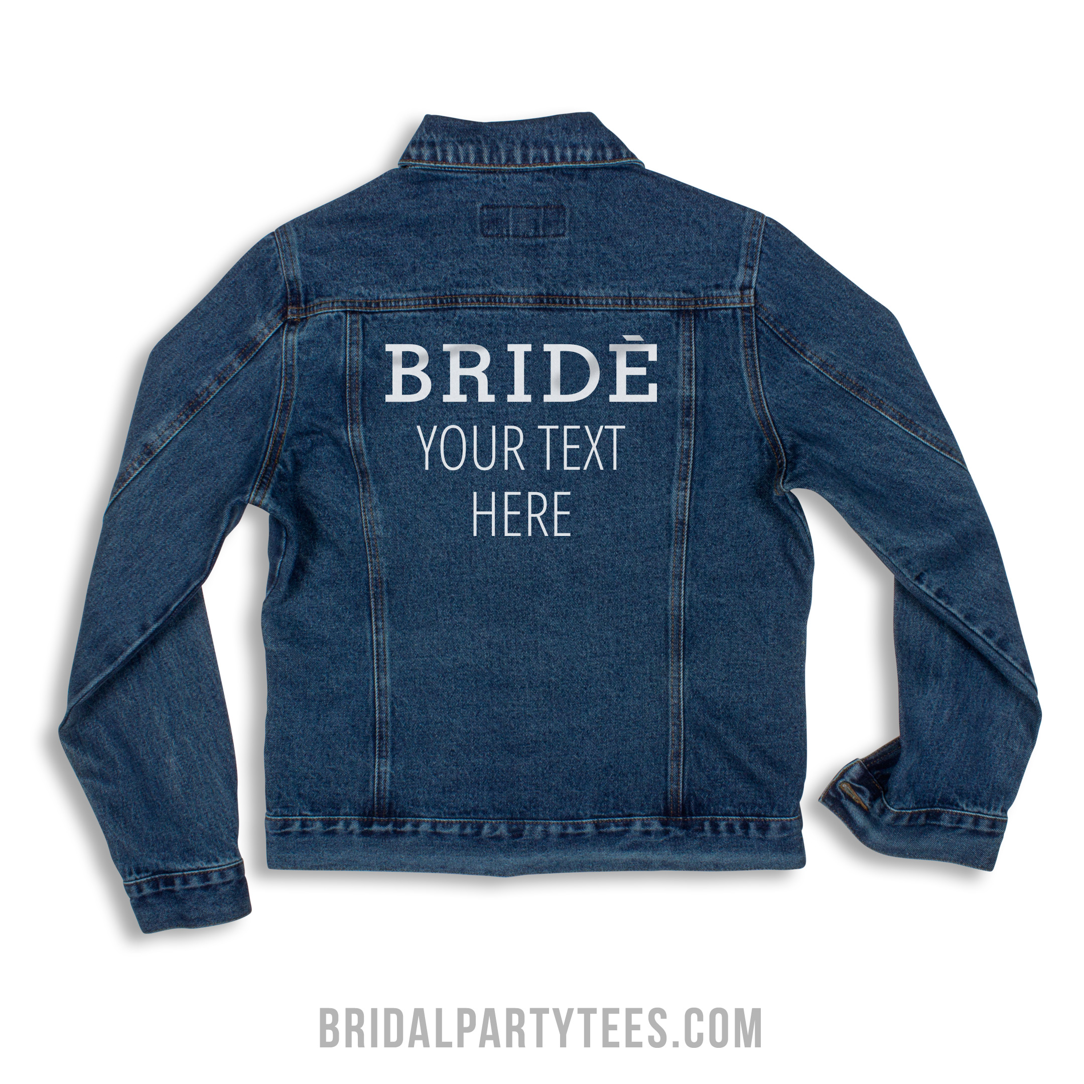 Custom Bride Jean Jacket