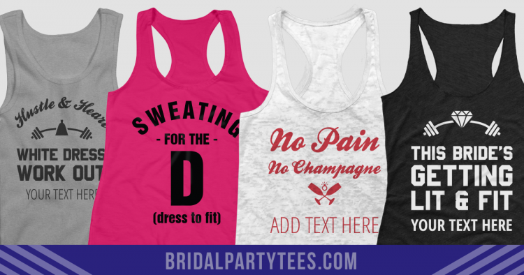 Bridal Workout Shirts