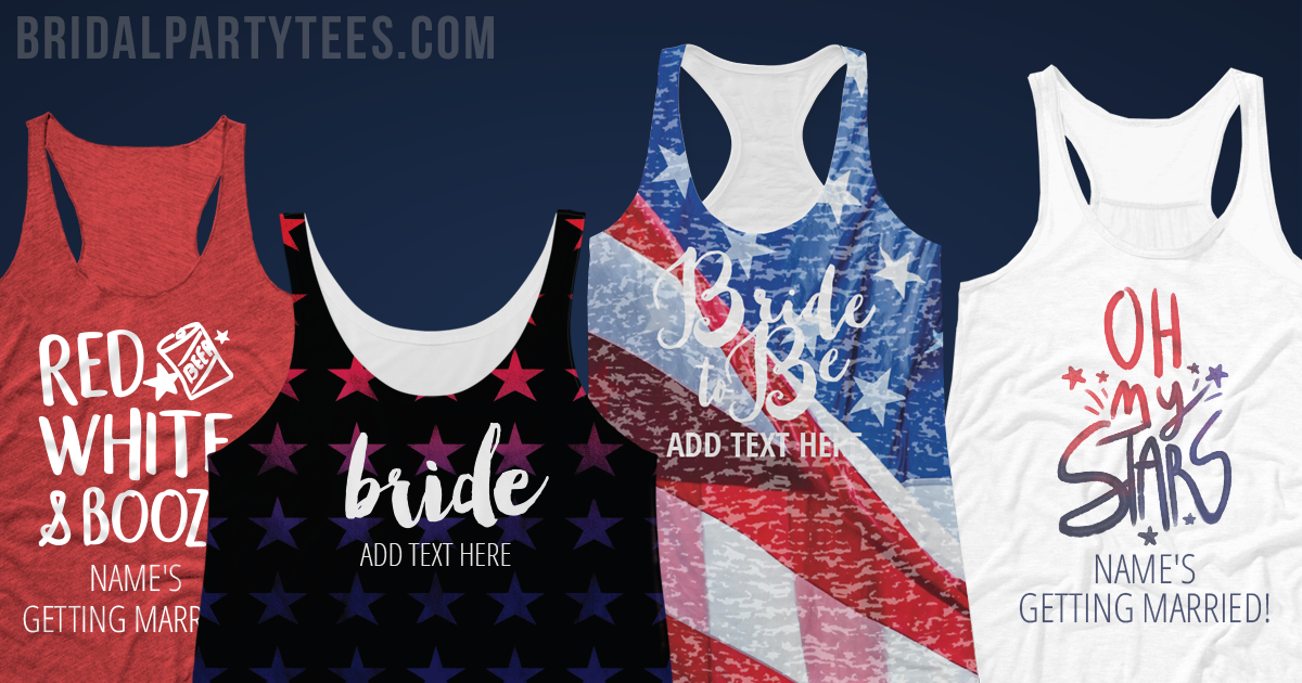 4th Of July Bachelorette Shirts
