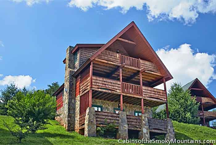 Pigeon Forge Cabin Above It All 1 Bedroom Sleeps 6 Jacuzzi Home Theater