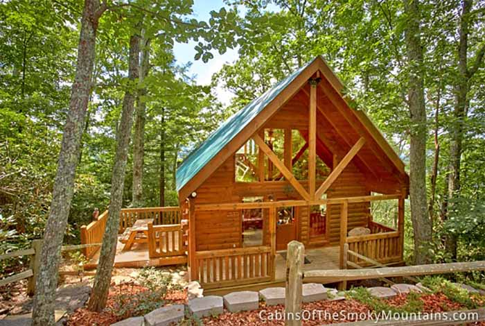 gatlinburg cabin above the rest 1 bedroom sleeps 4