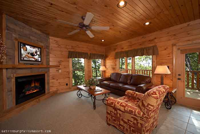 gatlinburg cabin altitude adjustment 3 bedroom sleeps 12