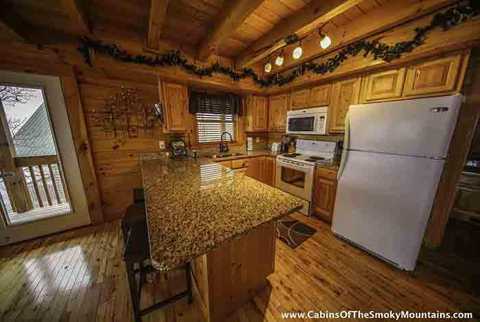 Pigeon Forge Cabin Peak Of Perfection 4 Bedroom