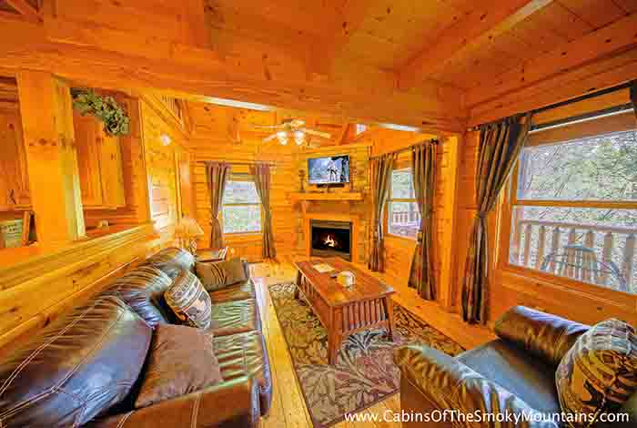 gatlinburg cabin the grandview 3 bedroom sleeps 12 swimming