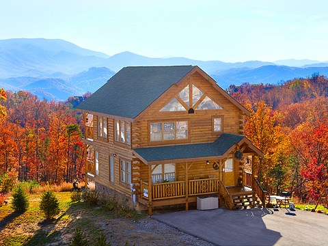 Pigeon forge cabin tomorrow 39 s memories 1 bedroom for 10 bedroom cabins in tennessee