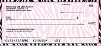 Neon Safari Personal Checks