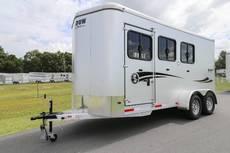 S2512 Stablemate 3 Horse Bumper Pull w/Escape Door