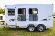 Stablemate 3 Horse Bumper Pull with Escape Door