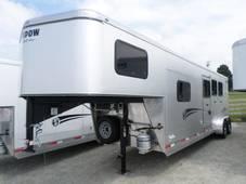 Silver Getaway Trailer 3 Horse with Escape Door